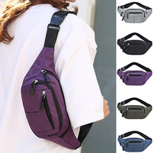 Purse Pouch Waist-Bag Mobile-Phone Designer Fashion Women Simple Ladies Oxford Leisure