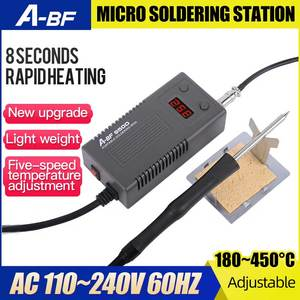 Image 2 - A BF 950D Micro Soldering Station 50W Mini Intelligent Repair Electric Iron Rework Station Quick Heat Up Welding Iron Tool Kits