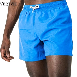VERTVIE Multi Color Pocket Quick Dry Swimming Shorts For Men Swimwear Man Swimsuit Swim Trunks Summer Bathing Beach Wear Surf(China)