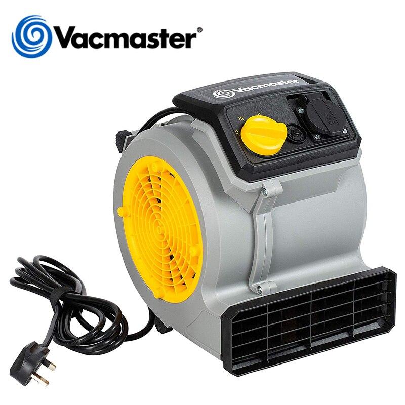 Vacmaster soplador potente, 2 en 1 soplador de aire, secador de suelo, Air Mover para casa Hotel supermercado, 125W, velocidad del aire 19 M/S