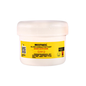 100g MECHANIC Conductive Silver Pulp  100% Silver Conductive Glue Wire Electrically Paste Adhesive Paint PCB Repair 0 3ml 1 0ml silver conductive paint paste wire glue electrically conductive glue paste adhesive paint pcb repair