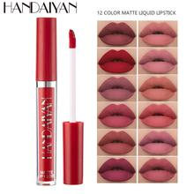1 Pcs Lips Makeup Liquid Lipstick 12 Colors Lip Gloss Moisturizer Long Lasting Waterproof Women Lip Tint Beauty Cosmetics TSLM1