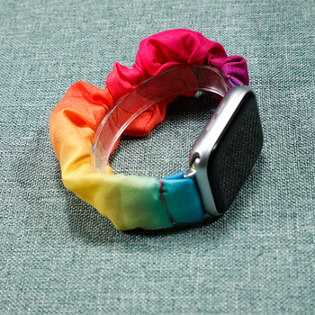 Scrunchie Apple watch strap