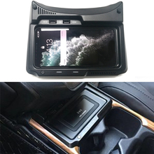 10W car wireless charger charging case QI phone charger fast charging holder accessories for Honda CRV CR-V 2017 2018 2019 2020