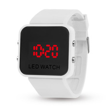 Student Men Watch LED Electronic Digital Boy Girl Unisex Jel