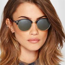 2021 retro semi sem aro óculos de sol das mulheres dos homens marca designer meio quadro quente popular estilo verão óculos uv400