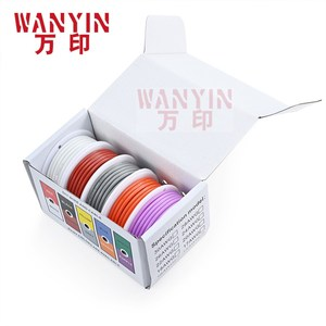 High-quality soft silicone wire and cable 5 colors mixed 1 box tinned pure copper anti-oxidation
