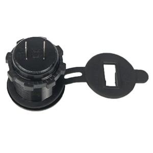 Image 2 - 2in1 Car Fast Charger Socket Dual USB Port Volt Display 12 24V Phone charger