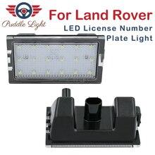 цена на 2Pcs Car LED License Number Plate Light Lamps For Land Rover Freelander 2 Discovery 3 4 Range Rover Sport LR2 3 4 L319 L320 L359