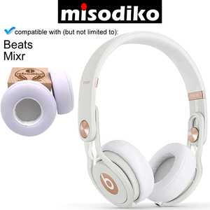 Image 4 - misodiko Replacement Ear Pads Cushion Kit   for Beats by Dr. Dre Mixr Wired On Ear Headphone, Repair Parts Earpads