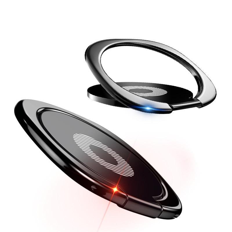 Luxury 360Degree Metal Finger Ring Holder Smartphone Mobile Phone Finger Stand Holder For Phone Universal Cell Phone Ring Stand