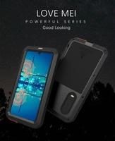 LOVE MEI Metal Waterproof Phone Case For Huawei P30/P30 Pro/P30 Lite/Nova 4e Shockproof Cover Aluminum Protection& Gorilla Glass