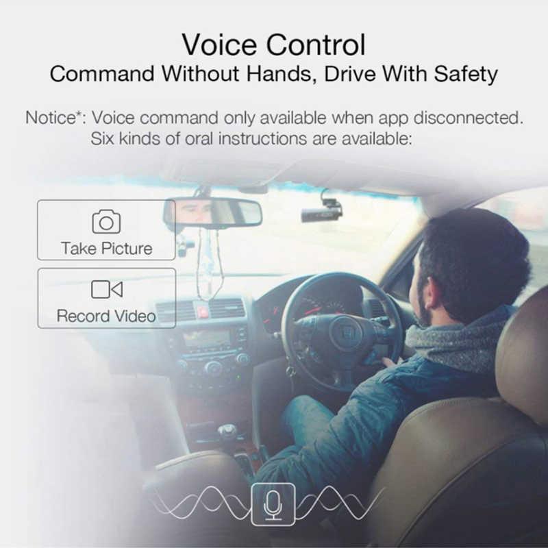 Xiaomi 70mai voiture Dash 1S Smart WiFi-DVR 130 degrés sans fil Cam 1080P HD Version nocturne g-sensor enregistreur de conduite voix anglaise