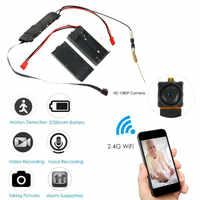 2020 neue WIFI Netzwerk Kamera Webcam IP P2P HD 1080P Mini Kamera DIY Wireless Cam Motion DV Camcorder Video audio Recorde
