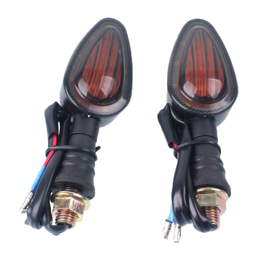 Motorcycle LED Turn Signal Light Indicator Blinker Lamp Amber For BMW R1200GS F800GS S1000XR K1200RS R1100R R1150R image