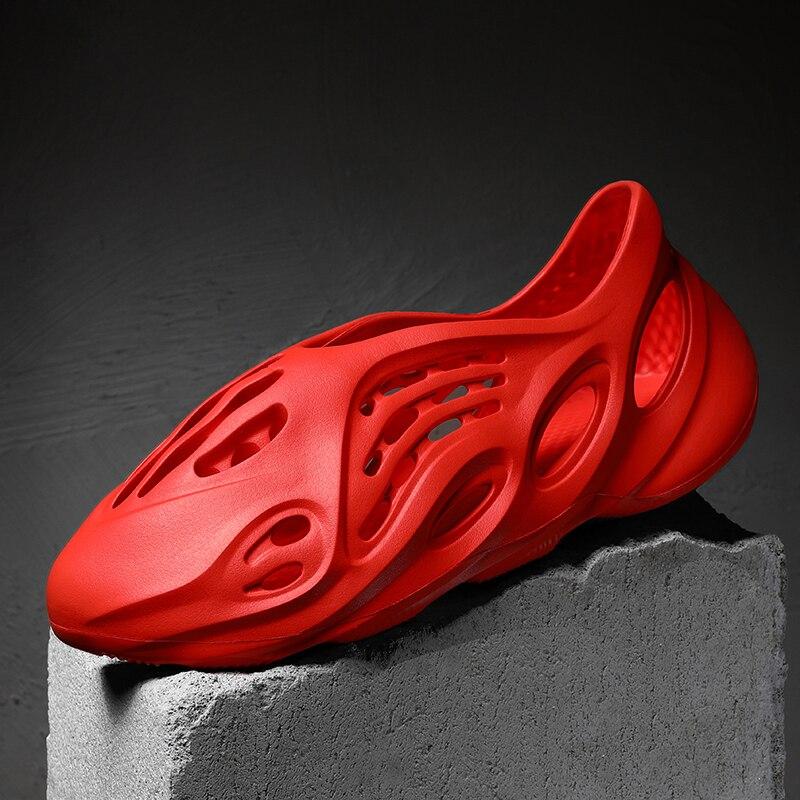 Chiang 2020 Men Crocks Aqua Shoes Cheap Sports Five-finger Sandal Mujer Lightweight Comfortable Breathable Sapato Feminino