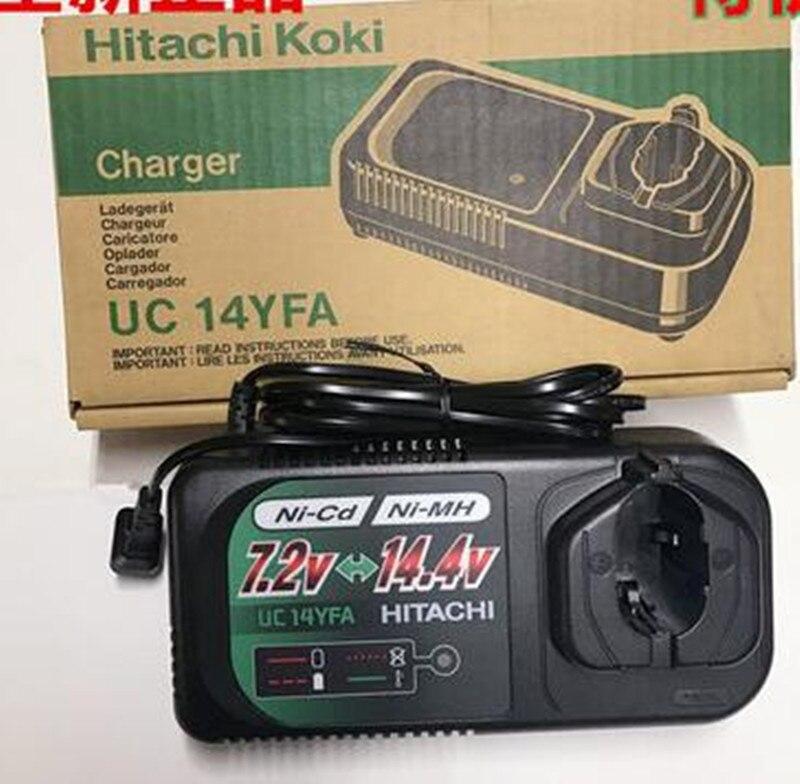 Charger UC14YFA For HITACHI KOKI HIKOKI EB1224 EB1230H EB121S EB1214L EB1220BL EB1222HL EB1230HL EB1412S EB1414 EB14B EB1424