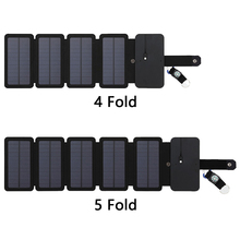 Folding Portable Mobile Phone Charger Package Panels Board Solar Powered with 4/5 Solar Panel #5
