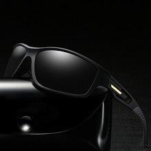 Visão noturna óculos de sol polarizados homens marca designer unisex condução óculos de sol masculino esportes ao ar livre oculos masculino