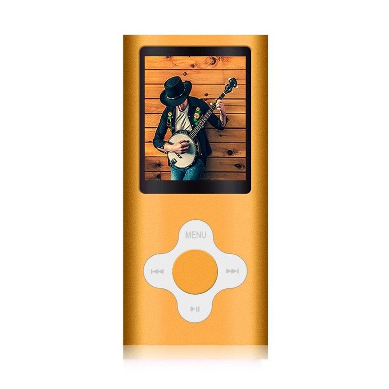Стильный Mp3/Mp4 плеер с 16 Гб Micro-Sd карты, поддержка просмотра фото, мини Usb порт 1,8 ЖК-дисплей, Цифровой музыкальный плеер, медиаплеер, МП