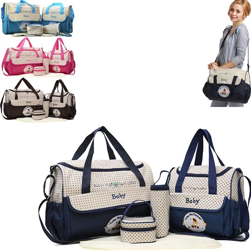 Mom Diaper Bag One Shoulder Baby Bag Nappy Bag Women Travel Handbag For Baby Nursing Maternity Bag Luiertas