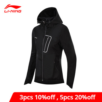 Li-Ning Women Running Windbreaker Regular Fit Polyester Comfort Jackets AT PROOF SMART li ning LiNing Sports Coat AFDN014 WWF900