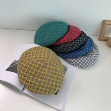 FASHION Lady spring Winter Berets Hat Painter style hat Sweet Girl Warm Wool Women Vintage Color Caps Female Bonnet
