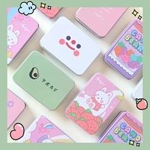 Cartoon Tinplate Storage Box Girl Candy Jewelry Coin Creative Cute Savings