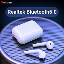 Langsdom T7R Realtek Bluetooth 5.0 Earphone True Wireless Earphones Headphone Stereo Earbuds With Mic for phone iPhone Xiaomi