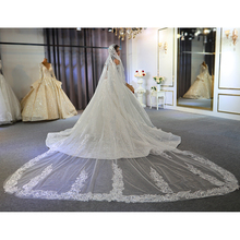 Long lace veil 2020 wedding veil