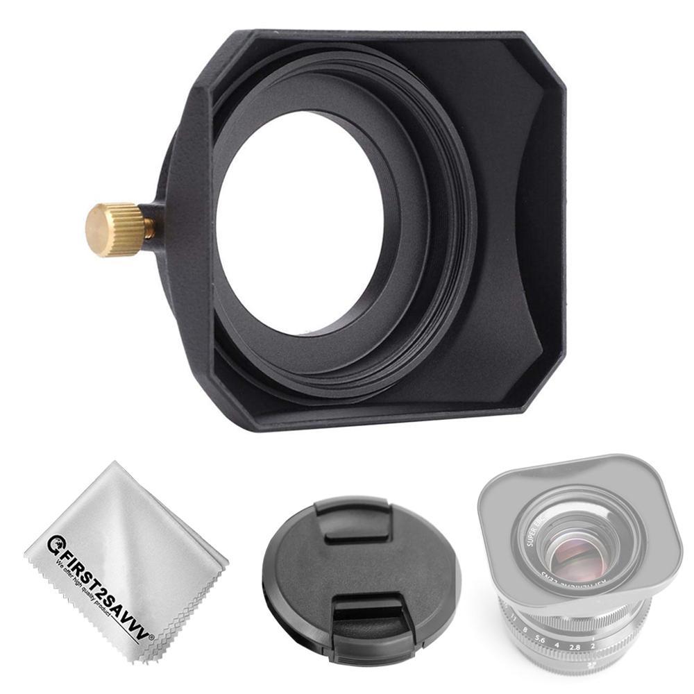 Lens Hood Metal Universal 49mm black for Ricoh