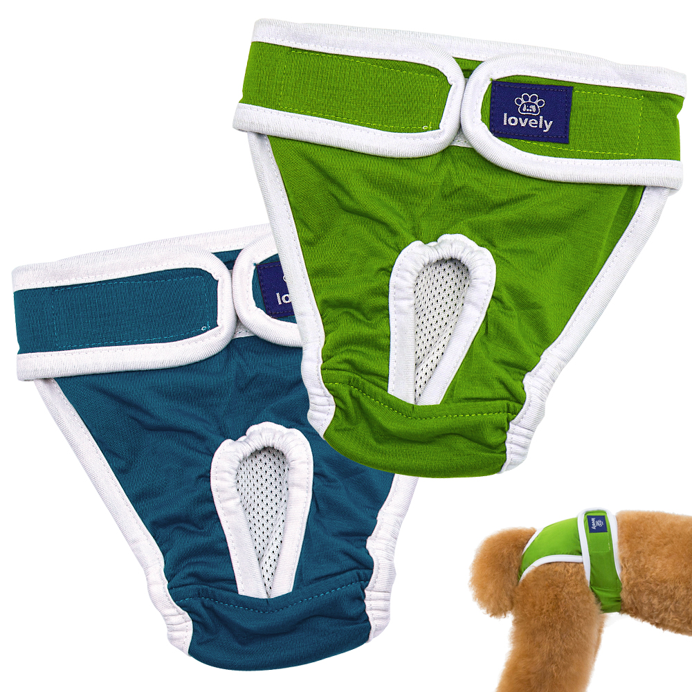Dog Diapers Physiological Pants Washable Female Dog Shorts Soft Girl Dogs Pants Pets Underwear Sanitary Panties S-2XL