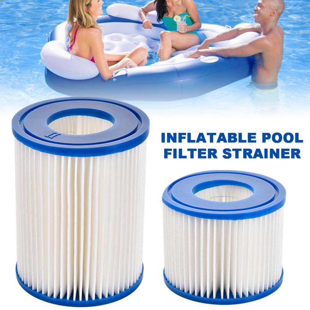 4 x Swimming Pool Inflatable Tub Bath Water Filter Cartridge f// MSPA FD2089