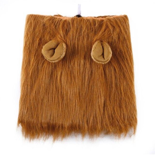 Zwierząt kostium dla zwierząt lew peruki grzywa chusta na głowę przebranie na przyjęcie ubrania pies kostium festiwal przebranie na przyjęcie dla psa