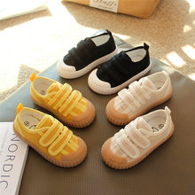 New Children Canvas Shoes Girls Boys Breathable Casual Baby Toddler Flats Spring/Autumn Kids Shoes Student Sports Sneakers 041