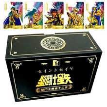 Saint Seiya Golden Saint Golden Hades Redraw Repaint Original Composite Craft Hobby Game Collection Cards Gifts