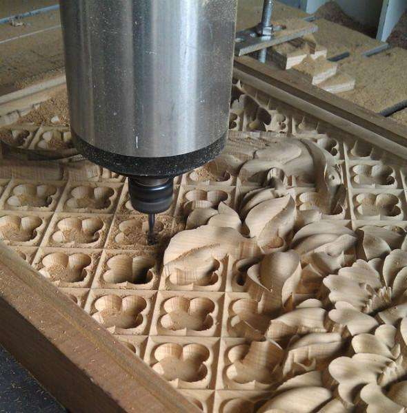 Woodworking CNC Router Machine 3D Wood Milling Machine 1325 Wood CNC Router