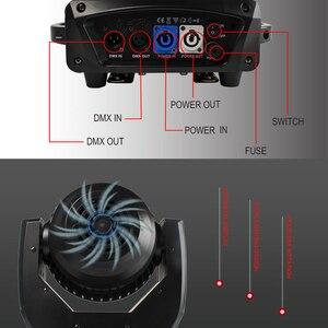 Image 5 - DJworld LED Beam + Wash 19x15W RGBW Zoom oświetlenie reflektor z ruchomą głowicą światło sceniczne dla światła Disco dla DJ domowa rozrywka Party Bar