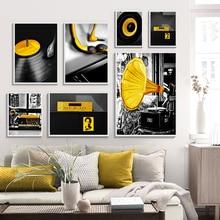 pared amarilla RETRO VINTAGE