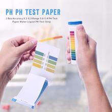 1 коробка точность 0,2-0,3 диапазон 3,8-5,4 PH Тест-бумага вода жидкость PH Тест-полоска используется для тестирования многих предметов первой необходимости