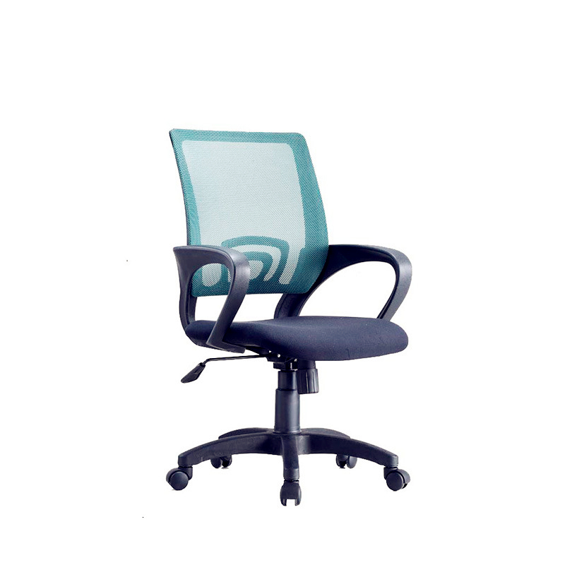 To Work In An Office Chair Netting Household Staff Member Chair Rotating Lift Chair Concise Bow Backrest Computer Chair