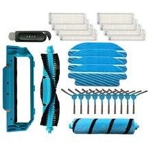 Topo!-escova de rolo para conga 3490 aspirador de pó escovas laterais filtro substituição mop panos capa peças