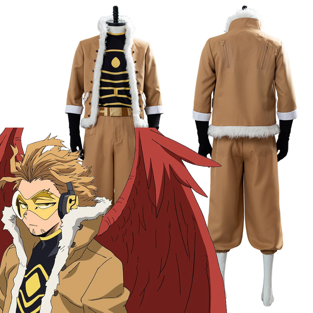 My Hero Academia Heros Rising Keigo Takami/Hawks Cosplay Costume Halloween Carnival Outfit Costumes Custom Made