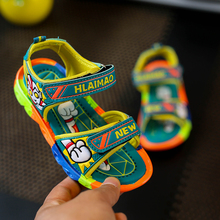 Boys Sandals Camouflage Color Children s Summer Sports Shoes Beach Sandals Open Toe Casual Children s Shoes Wholesale