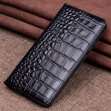 Luxury Genuine Leather Flip Case Cover Magnetic Cases For Huawei Honor Magic 2 Magic2 Phone Fundas