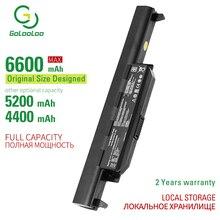 Golooloo 6 ячеек Аккумулятор для ноутбука ASUS K55 K55A K55D K55DE K55DR K55N K55V K55VD K55VM K55VS K75 K75A K75D K75DE K75V K75VD