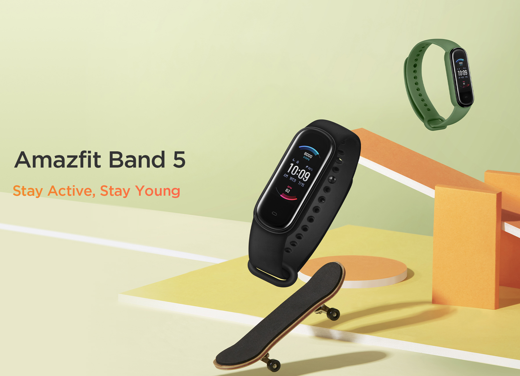 Amazfit Band 5 Smartwatch 4
