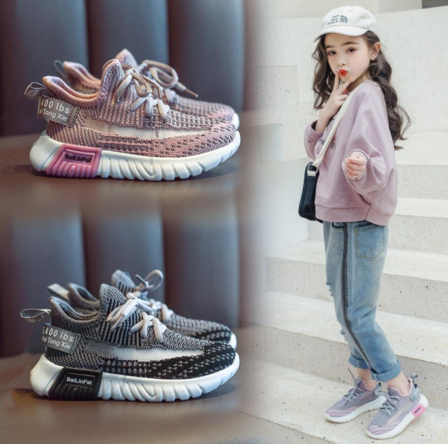 Children Breathable Casual Shoes Male Female Child Soft Outsole Running Shoes Baby Child Sport Shoes Kids Fashion Boots