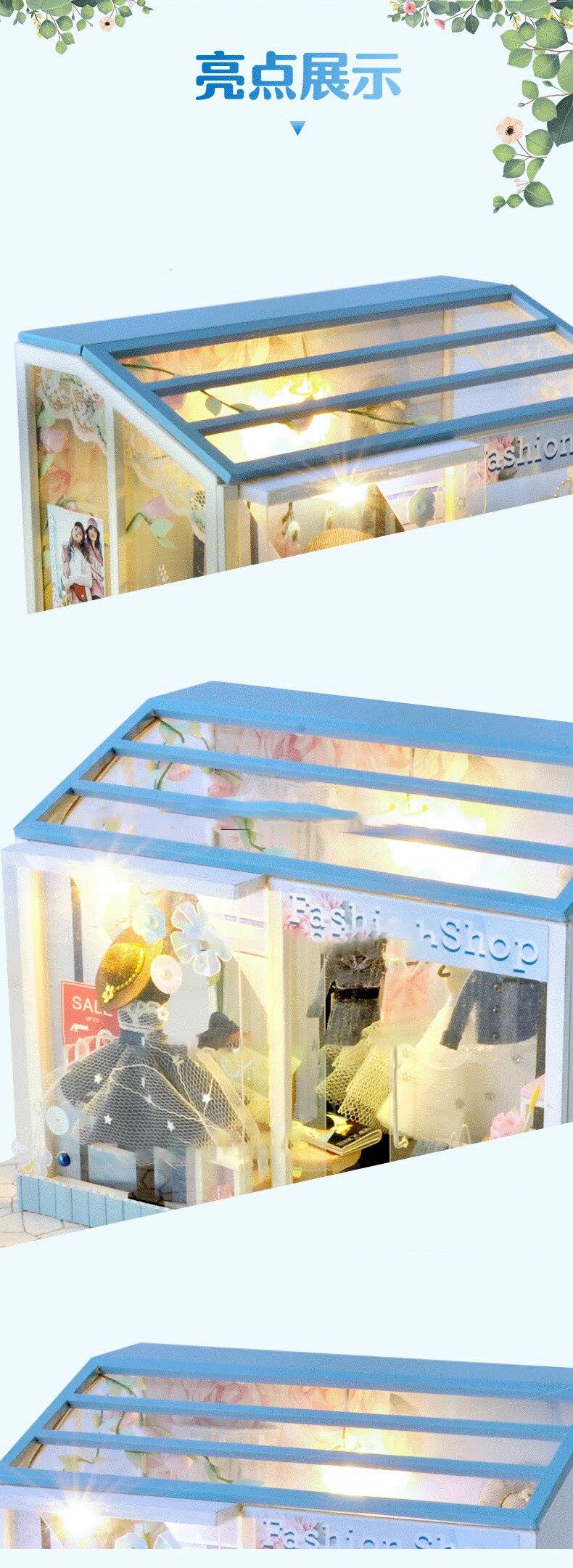 H307348205b084b0d92b27dfb6bae4c59I - Robotime - DIY Models, DIY Miniature Houses, 3d Wooden Puzzle