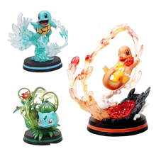 Charmander Bulbasaur Squirtle action toy figures toy model collection for kids gift